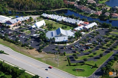 Aerial photo of North Naples UMC